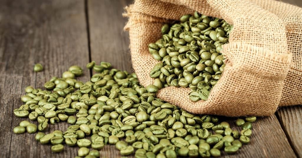 Green Coffee Beans ready for roasting