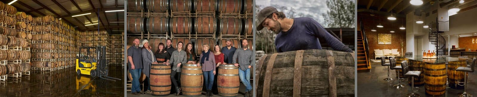 Country Connection is a barrel broker and cooperage with locations in Kentucky and California