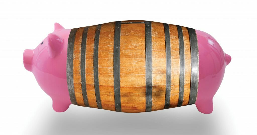 How craft brewers and distillers can find cheap wine barrels