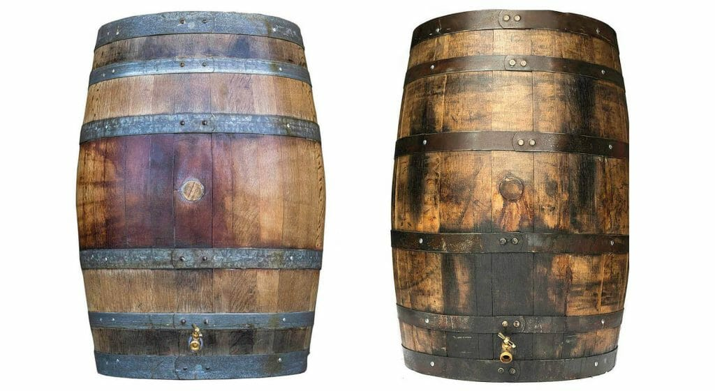Our wine and whiskey barrel rain barrels ship from California and Kentucky to customers world wide.